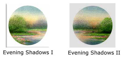 Arnold Alaniz - Evening Shadows I and II