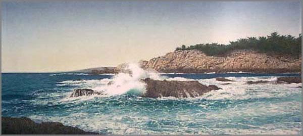 Arnold Alaniz - Rocky Coast