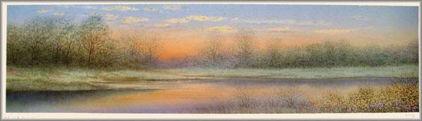 Arnold Alaniz - Spring Sunset II