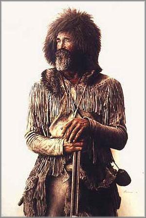 James Bama - Mountain Man 1820-1840 Period