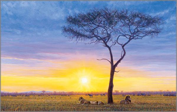 John Banovich - Peaceable Kingdom