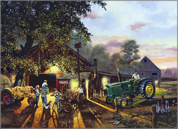 Dave Barnhouse - New Tractor for Show