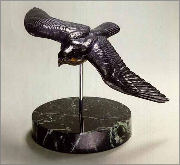 Peregrine in Flight by Robert Bateman