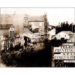 Main Street - 1850 by Alan Brown