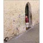Moroccan Girl by Alan Brown