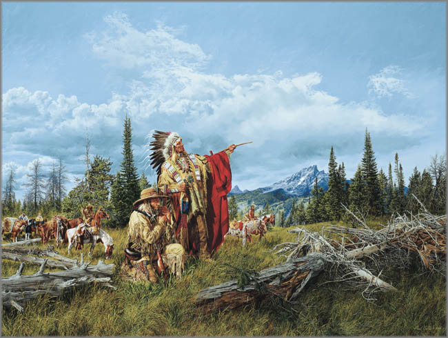 Paul Calle - In the Land of the Teton Sioux
