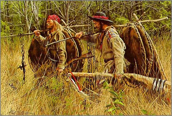 Paul Calle - Beaver Men