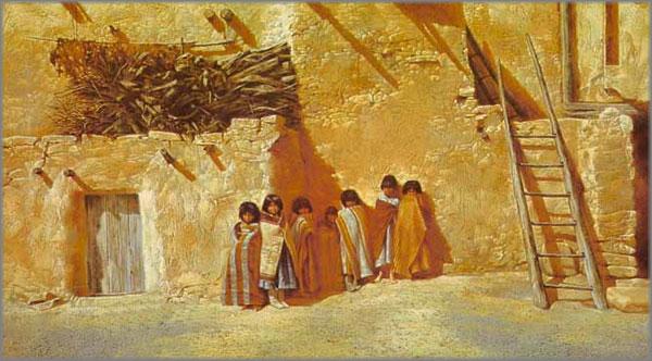 Paul Calle - Children of Walpi