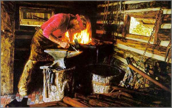 Paul Calle - Frontier Blacksmith