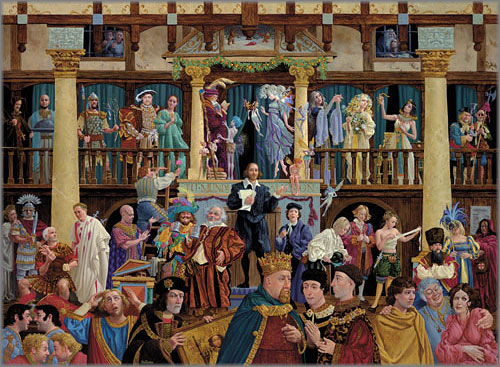 James C. Christensen - All the World's a Stage