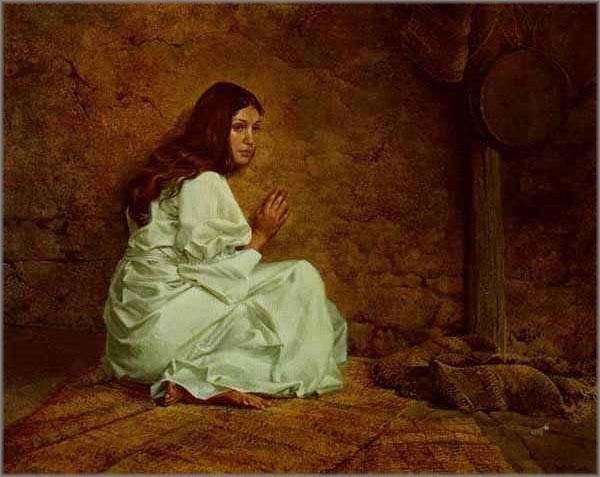 James C. Christensen - Annunciation