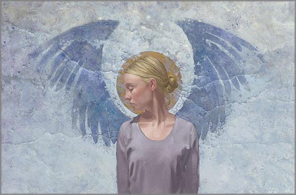 James C. Christensen - Angel Unaware