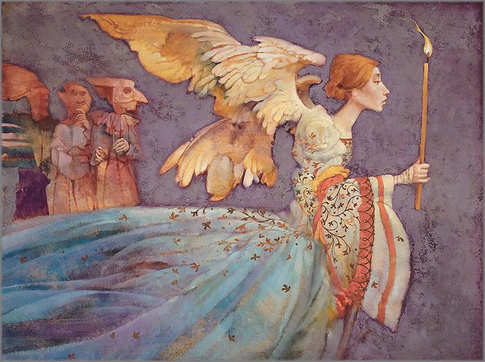 James C. Christensen - Angel