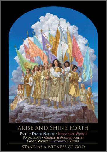 James C. Christensen - Arise and Shine Forth