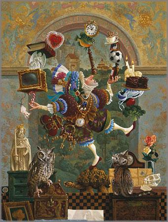 James C. Christensen - Balancing Act