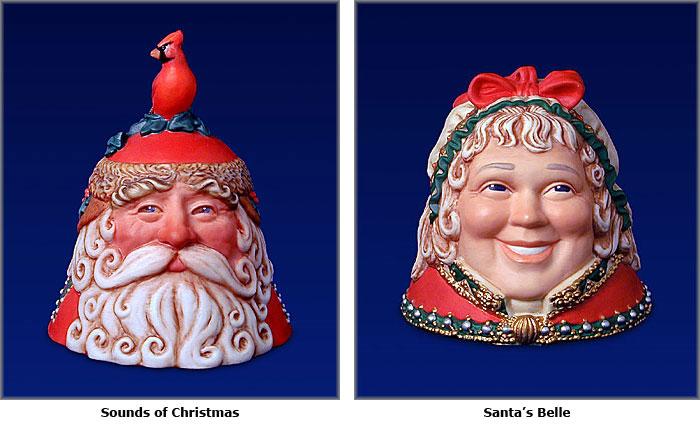 James C. Christensen - Christmas Bell set