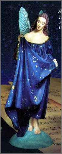 James C. Christensen - Celeste - The Faerie Muse of Astronomy