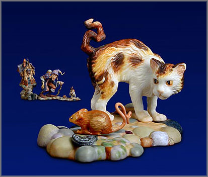James C. Christensen - Crooked Cat and Crooked Mouse