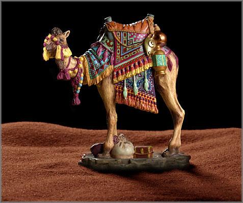 James C. Christensen - Darius the Camel