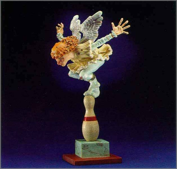 James C. Christensen - How Many Angels Can Dance on the Head of a Pin?