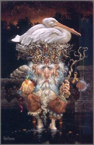 James C. Christensen - Pelican King