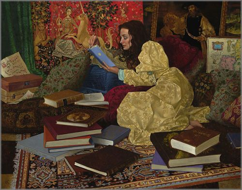 James C. Christensen - Place of Her Own, A