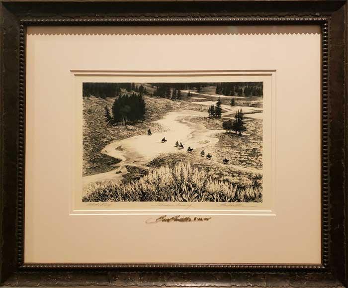 Shoshone Crossing by Bev Doolittle