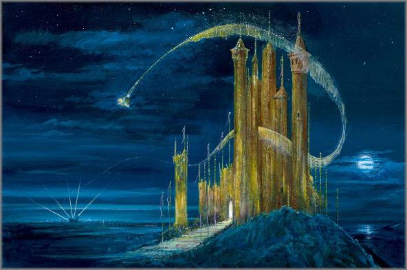 Peter Ellenshaw and Harrison Ellenshaw - Gold Castle, The