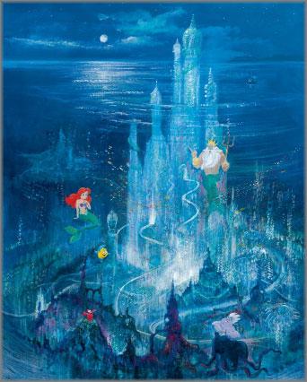 Peter Ellenshaw and Harrison Ellenshaw - Triton's Castle