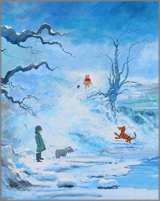 Peter Ellenshaw and Harrison Ellenshaw - Winter in 100 Acre Wood