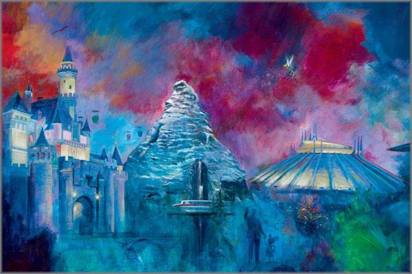 Harrison Ellenshaw - Disneyland's 50th