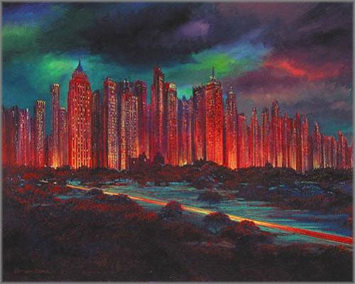 Harrison Ellenshaw - Gotham Night