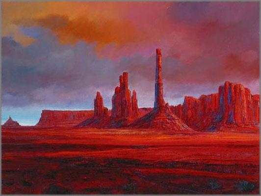 Harrison Ellenshaw - Monument Valley