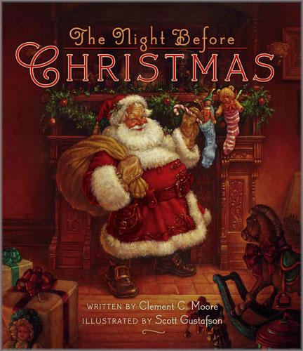 Scott Gustafson - Twas the Night Before Christmas: BOOKS