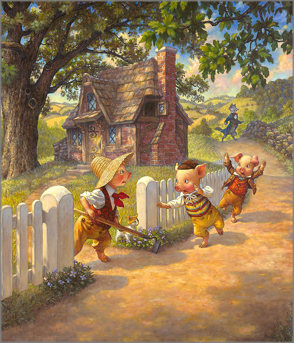 Scott Gustafson - Three Little Pigs