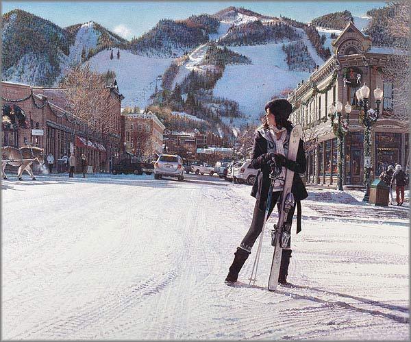 Steve Hanks - Aspen Winter