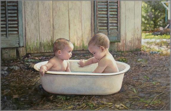 Steve Hanks - Baby Bath