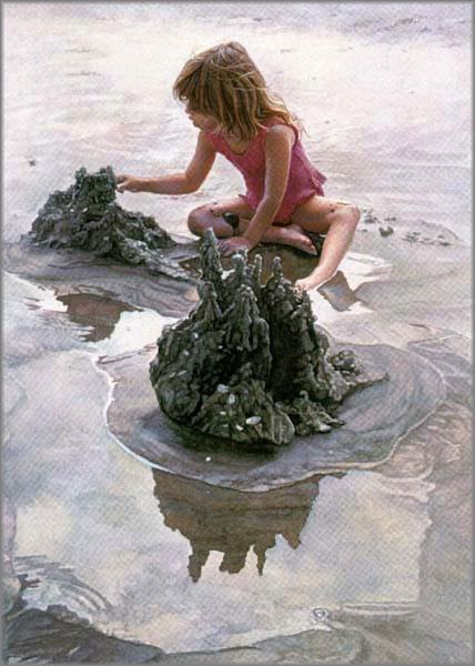 Steve Hanks - Castles in the Sand