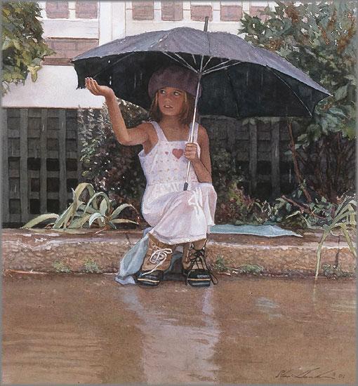 Steve Hanks - Catching the Rain