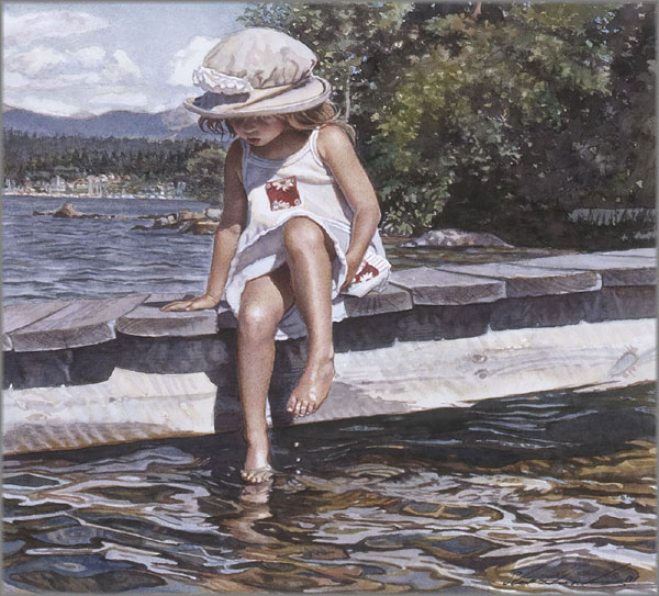Steve Hanks - Getting Her Feet Wet