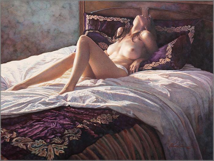 Steve Hanks - In the Soft Comfort of Her Bed