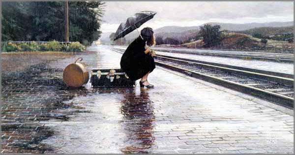 Steve Hanks - Leaving in the Rain