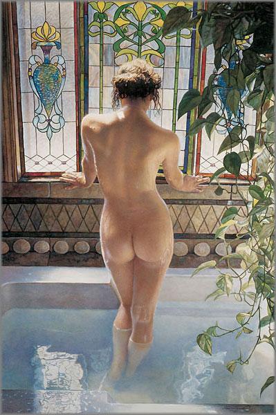Steve Hanks - Morning Bath