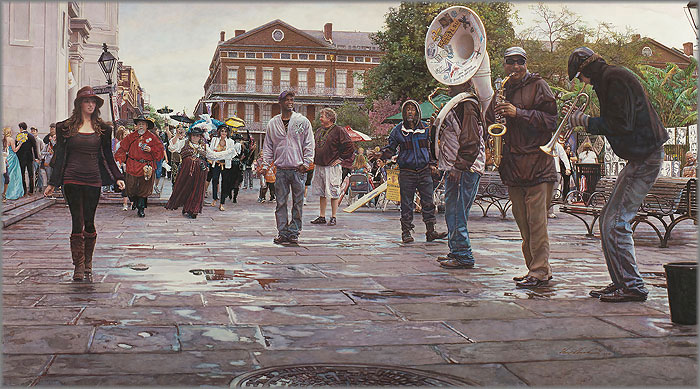 Steve Hanks - New Orleans:  Celebrating Life, Death and the Pursuit of Happiness