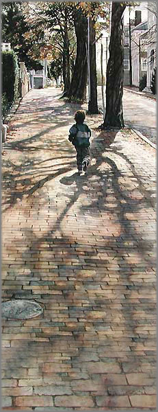 Steve Hanks - On the Shadows of the Past Runs the Future