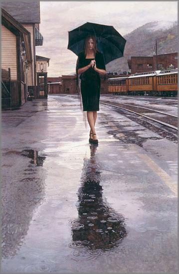 Steve Hanks - Waiting in the Rain