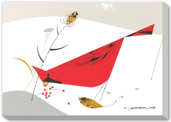 Charley harper limited edition giclee canvas and paper for Charley harper mural