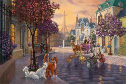 Tangled Thomas Kinkade LE 695 18x27 Paper Disney NEW Giclee Authorized Dealer
