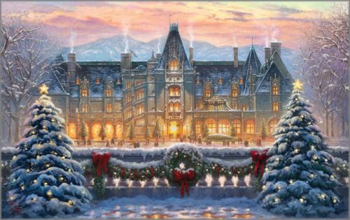 Thomas Kinkade Christmas.Thomas Kinkade Christmas At Biltmore