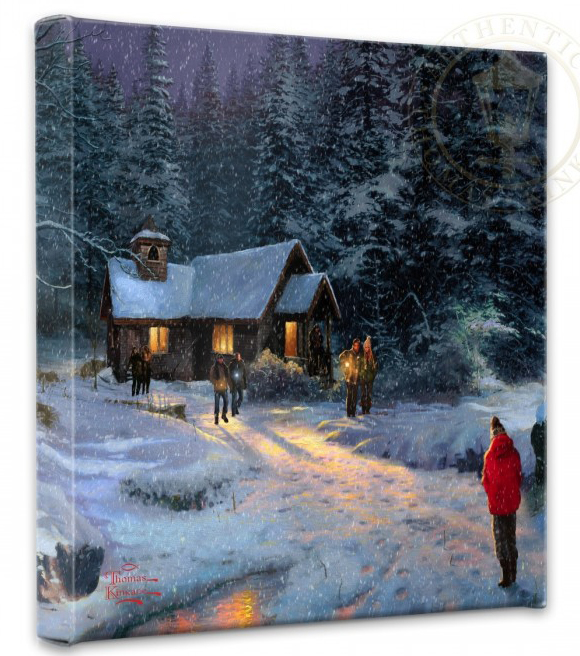 Christmas Tree Miracle Movie: Christmas Art, Limited Edition Prints On Canvas, Paper